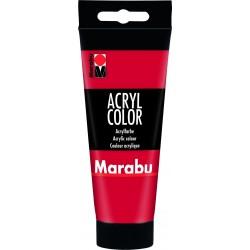 Akrylová barva červená třešeň 100 ml Marabu