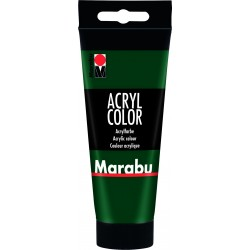 Akrylová barva zelená pinie 100 ml Marabu