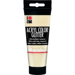 Akrylová barva zlatá glitrová 100ml Marabu