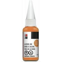 Alkoholový inkoust oranžová neonová 20 ml Marabu