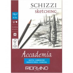 Skicák A4 120g/m² 50 listů Accademia Fabriano