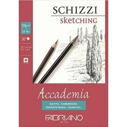 Skicák A3 120g/m² 50 listů Accademia Fabriano