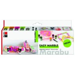 Easy Marble sada neonové odstíny 5x15 ml Marabu