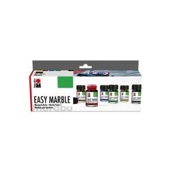 Easy Marble sada 6x15 ml Marabu