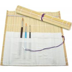 Pouzdro na štětce bambusové