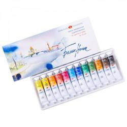 Akvarelové umělecké barvy 12x10 ml White Nights Nevskaya Palitra