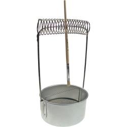 Držák kovový na štětce