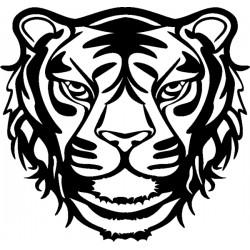 Šablona plastová Tygr 30x30 cm Marabu