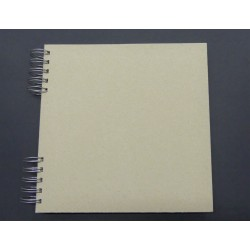 Album na scrapbooking 21,5 x 21,5 cm Natur 18 listů kroužková vazba