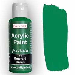 Akrylová umělecká barva Zeleň smaragdová 50 ml Daily ART
