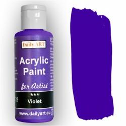 Akrylová umělecká barva Fialová 50 ml Daily ART