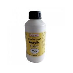 Akrylová barva prémiová bílá 500 ml Daily ART