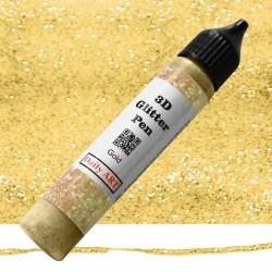 3D liner glitrový Zlatý 25 ml Daily ART