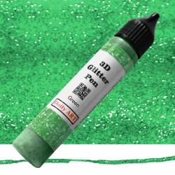 3D liner glitrový Zelený 25 ml Daily ART