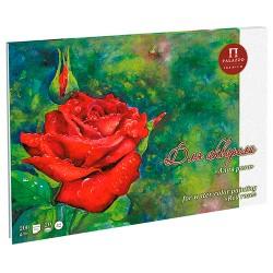 Blok na akvarel A3 20 listů 200g/m² Červená růže Palazzo