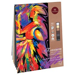 Blok na pastel A4 40% bavlna 18 listů 160g/m² 6 odstínů papíru Sweet Dreams Palazzo