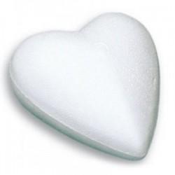 Polystyrenové srdce 9 cm